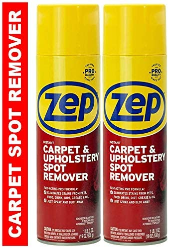 Zep Instant Carpet & Upholstery Spot and Stain Remover Aerosol (Pack of 2) (Formerly Instant Spot Remover)